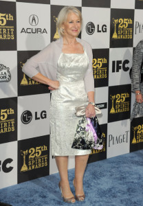 Helen Mirren at the 25th Film Independent Spirit Awards sponsored by Piaget held at Nokia Theatre on March 5th 2010 in Los Angeles California 3