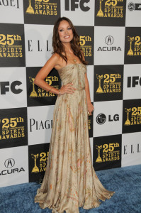 Olivia Wilde arrives at the 25th Film Independent Spirit Awards sponsored by Piaget held at Nokia Theatre on March 5th 2010 in Los Angeles California 3