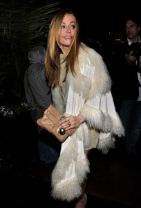 Cat Deeley arrives at the Chanel And Charles Finch Pre Oscar Party Celebrating Fashion And Film at Madeo Restaurant on March 6th 2010 in Los Angeles 1
