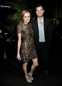 Diane Kruger arrives at the Chanel And Charles Finch Pre Oscar Party Celebrating Fashion And Film at Madeo Restaurant on March 6th 2010 in Los Angeles 1