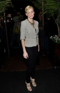 Elizabeth Banks arrives at the Chanel And Charles Finch Pre Oscar Party Celebrating Fashion And Film at Madeo Restaurant on March 6th 2010 in Los Angeles 1