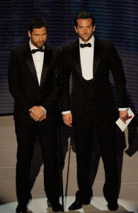 Gerard Butler and Bradley Cooper photo during the 82nd Annual Academy Awards held at Kodak Theatre on March 7th 2010 in Hollywood 2