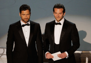 Gerard Butler and Bradley Cooper photo during the 82nd Annual Academy Awards held at Kodak Theatre on March 7th 2010 in Hollywood 1