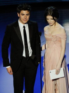Zac Efron and Anna Kendrick walk onstage during the 82nd Annual Academy Awards held at Kodak Theatre on March 7th 2010 in Hollywood 2