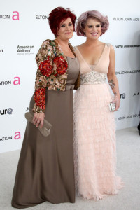 Kelly Osbourne and Sharon Osbourne at the 18th annual Elton John AIDS Foundation Oscar Party held at Pacific Design Center on March 7 2010 in West Hollywood California 4