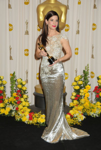 Sandra Bullock at the press room with her award at the 82nd Annual Academy Awards on March 7th 2010 in Hollywood 1