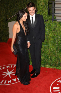 Vanessa Hudgens and Zac Efron at the 2010 Vanity Fair Oscar Party at Sunset Tower on March 7th 2010 in West Hollywood 2