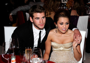 Miley Cyrus at the 18th Annual Elton John AIDS Foundation Academy Award Party at Pacific Design Center on March 7th 2010 in West Hollywood 4