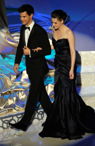 Kristen Stewart and Taylor Lautner photo during the 82nd Annual Academy Awards held at Kodak Theatre on March 7th 2010 in Hollywood 3