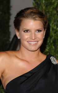 Jessica Simpson photo at the 2010 Vanity Fair Oscar Party on March 7th 2010 in Hollywood 6