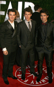 Jonas Brothers at the 18th Annual Elton John AIDS Foundation Academy Awards Viewing Party at the Pacific Design Center on March 7th 2010 in West Hollywood 2