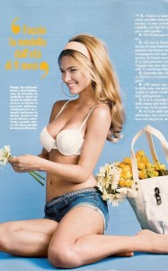 Bar Refaeli photo shoot for the April 2010 issue of Vogue Russia and Chi magazine 3