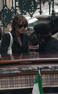 Brad Pitt and Angelina Jolie seen together on March 20th 2010 out in Venice Italy 1