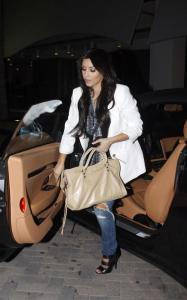 Kim Kardashian spotted out and about on the night of March 22nd 2010 in Miami Florida 2