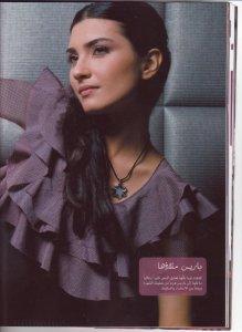 turkish model and actress Tuba Buyukustun photo shoot session of Laha Magazine 4