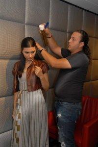 turkish model and actress Tuba Buyukustun photo shoot session of Laha Magazine 1