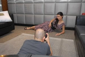 turkish model and actress Tuba Buyukustun photo shoot session of Laha Magazine 6