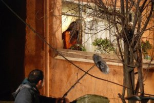 turkish model and actress Tuba Buyukustun on the set of a new turkish darama series of the name of Gonulcelen 22