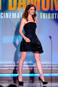 Jennifer Garner speaks onstage during the 24th American Cinematheque Awards held on March 27th 2010 at the Beverly Hilton Hotel in California 4