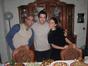 Picture of Mohamad bash birthday held at his house in Syria March 2010 with Ibrahim Dashti and Lara Scandar 5