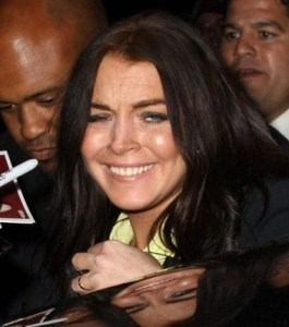 Lindsay Lohan looks tired as she leaves XBOXs Splinter Cell event  which was held on April 1st 2010 at Les Deux in Hollywood 3