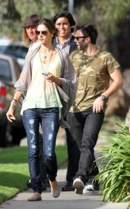 Alessandra Ambrosio and Jaime Mazur spotted searching  for a house on April 4th 2010 in several different locations of California 1