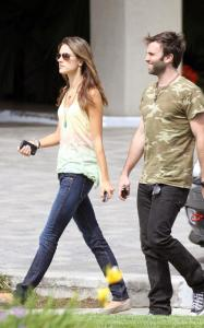 Alessandra Ambrosio and Jaime Mazur spotted searching  for a house on April 4th 2010 in several different locations of California 3