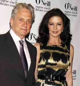 Catherine Zeta Jones and Michael Douglas were spotted at the 2010 Eugene ONeill Theatre Center on April 5th 2010 for the Monte Cristo Awards dinner 3