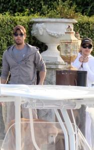 Enrique Iglesias and Anna Kournikova seen hanging out together on April 3rd 2010 in Miami Beach Florida 5