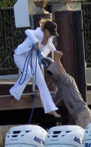 Enrique Iglesias and Anna Kournikova seen hanging out together on April 3rd 2010 in Miami Beach Florida 1