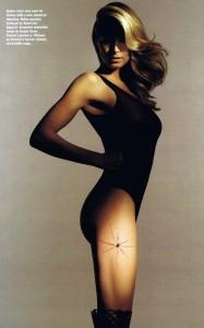 Heidi Klum recent photo shoot for the April 2010 issue of Allure Magazine 1