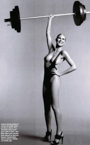 Heidi Klum recent photo shoot for the April 2010 issue of Allure Magazine 2