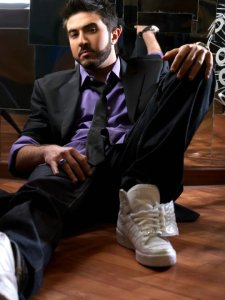 New Photo shoot in April 2010 of Star Academy seven student Mahmoud Shokry from Egypt