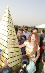 Rania Naguib picture after leaving star academy at an outdoor event