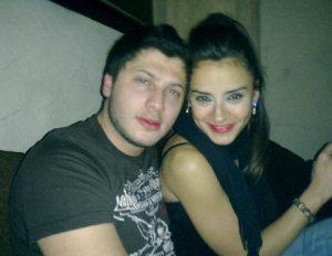 Rayan Eid with his girldfriend Karo Caroline