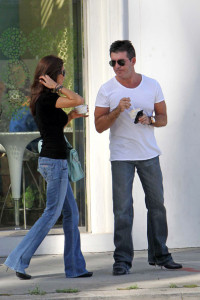 Simon Cowell and his fiance Mezhgan Hussainy seen together on March 27th 2010 as they visit Heritage Classic Cars then a Pinkberry for some frozen yogurt 1