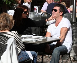 Simon Cowell and his fiance Mezhgan Hussainy out shopping and having dinner together in Beverly Hills 2