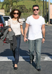 Simon Cowell and his fiance Mezhgan Hussainy seen together on March 15th 2010 as they were shopping at the Malibu country market 6