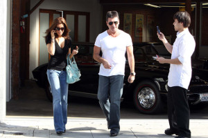 Simon Cowell and his fiance Mezhgan Hussainy seen together on March 27th 2010 as they visit Heritage Classic Cars then a Pinkberry for some frozen yogurt 6