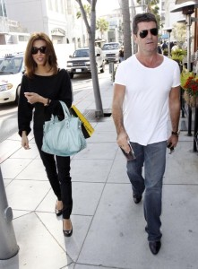 Simon Cowell and his fiance Mezhgan Hussainy out shopping and having dinner together in Beverly Hills 12
