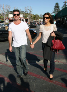 Simon Cowell and his fiance Mezhgan Hussainy seen together on March 15th 2010 as they were shopping at the Malibu country market 3