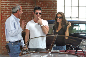 Simon Cowell and his fiance Mezhgan Hussainy seen together on March 27th 2010 as they visit Heritage Classic Cars then a Pinkberry for some frozen yogurt 9
