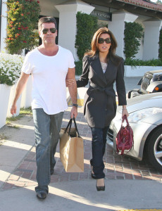 Simon Cowell and his fiance Mezhgan Hussainy seen together on March 15th 2010 as they were shopping at the Malibu country market 9