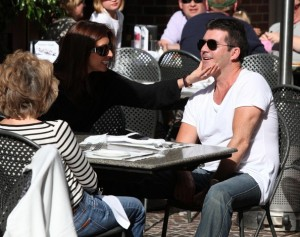 Simon Cowell and his fiance Mezhgan Hussainy out shopping and having dinner together in Beverly Hills 13