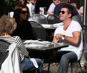 Simon Cowell and his fiance Mezhgan Hussainy out shopping and having dinner together in Beverly Hills 9