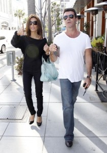 Simon Cowell and his fiance Mezhgan Hussainy out shopping and having dinner together in Beverly Hills 11
