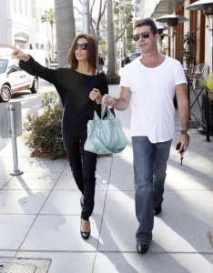 Simon Cowell and his fiance Mezhgan Hussainy out shopping and having dinner together in Beverly Hills 3