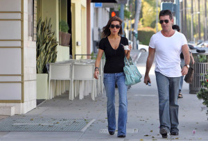 Simon Cowell and his fiance Mezhgan Hussainy seen together on March 27th 2010 as they visit Heritage Classic Cars then a Pinkberry for some frozen yogurt 7