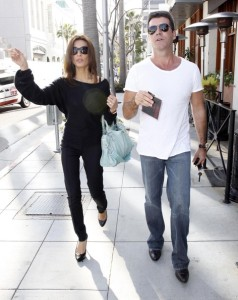 Simon Cowell and his fiance Mezhgan Hussainy out shopping and having dinner together in Beverly Hills 8