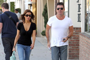 Simon Cowell and his fiance Mezhgan Hussainy seen together on March 27th 2010 as they visit Heritage Classic Cars then a Pinkberry for some frozen yogurt 8
